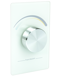 American Lighting TWRF-BATT - Trulux RF CCT Dial Wall Dimmer - BACKORDERED Until JUNE 2021
